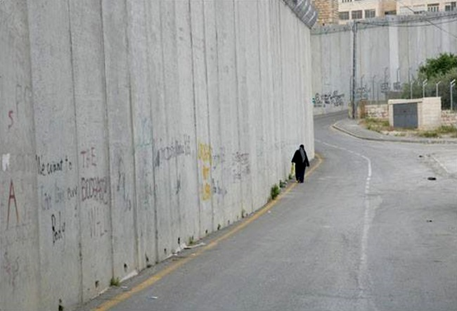 muro cisjordania israel