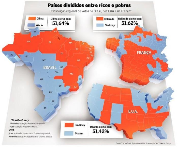 eleições brasil mapa nova mundo