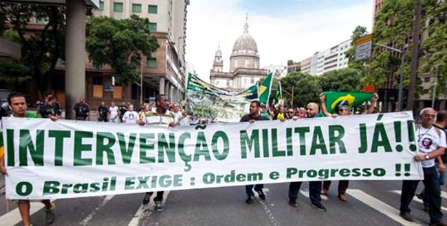 intervencao militar golpe