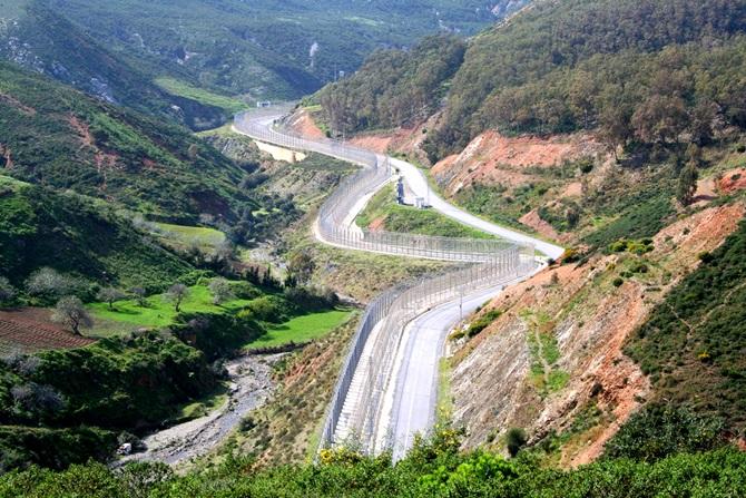 muro Espanha marrocos