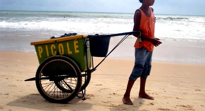 Trabalho infantil no Nordeste cai