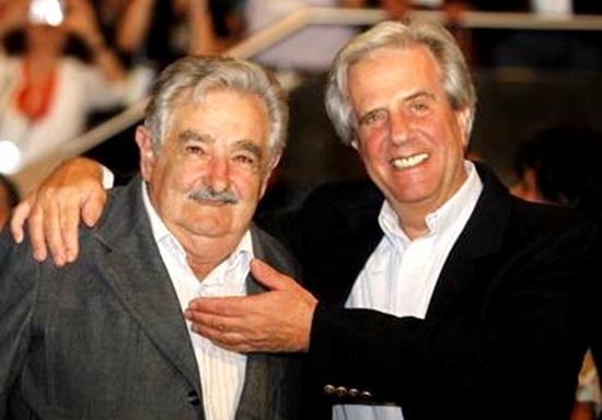 uruguai pepe Mujica Tabare vazquez