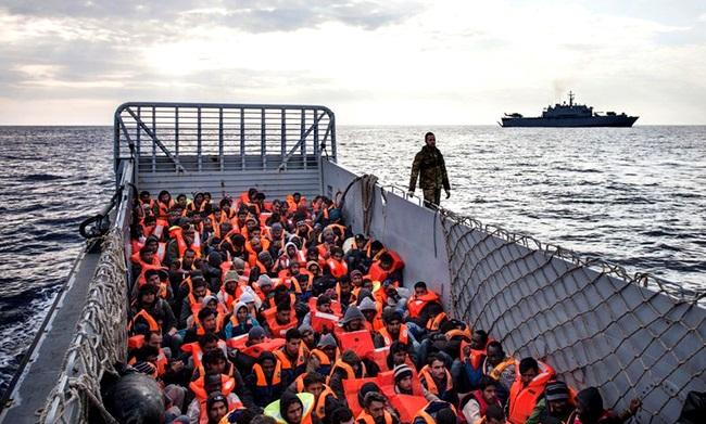 guerra refugiados do Oriente Médio Mar Mediterrâneo