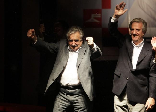 mujica uruguai tabaré vázquez