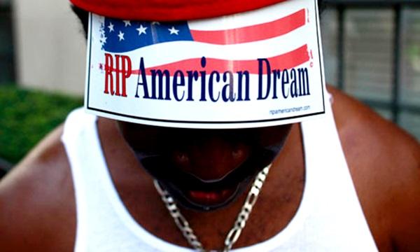eterna ilusão sonho americano desiguldade social