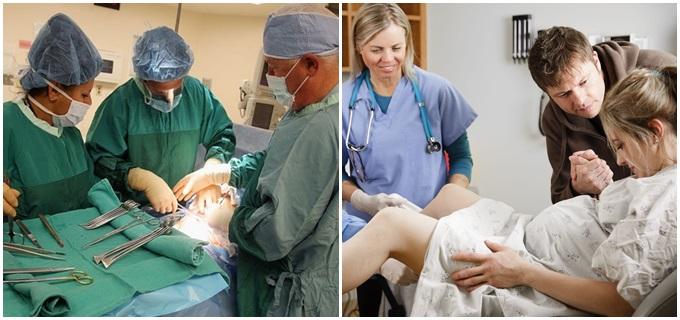 parto normal cesária medicina Brasil