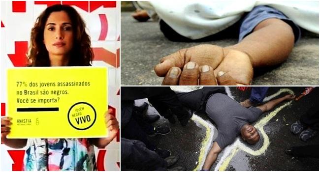 negros chances de morrer brancos brasil