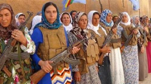curdas estado islâmico