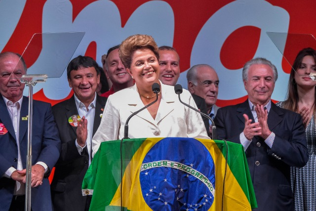 dilma rousseff vitória presidente alegria brasil