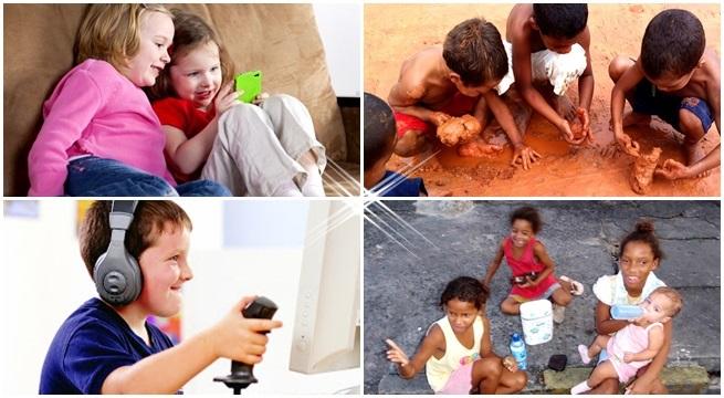 crianças negros pobres  covardia elite