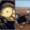 selfie-apos-capotar-carro-180km