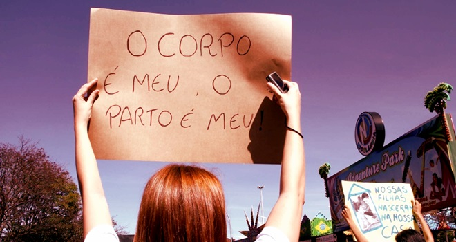 parto normal cesária humanizado medicina Brasil