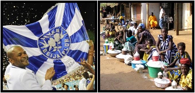 Ditador de Guiné Equatorial carnaval Beija-Flor desigualdade