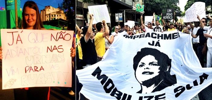 impeachment protestos dilma pt direita coxinhas