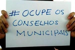 #ocupeosconselhosmunicipais