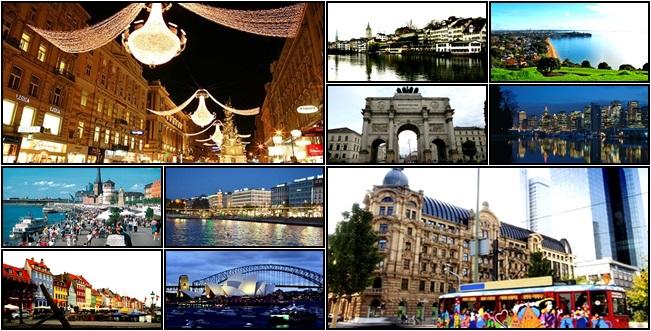 cidades qualidade de vida cidadania mundo