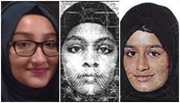 Estado Islâmico Kadiza Sultana Amira Abase Shamima Begum