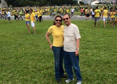 agripino maia protesto brasília corrupção