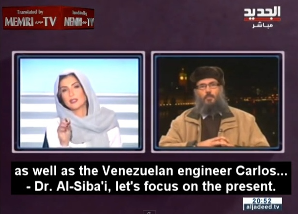 apresentadora vídeo estado islâmico líbano