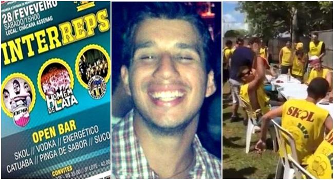 aluno Humberto bauru morto álcool unesp