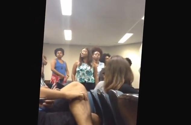 usp vídeo estudantes racismo