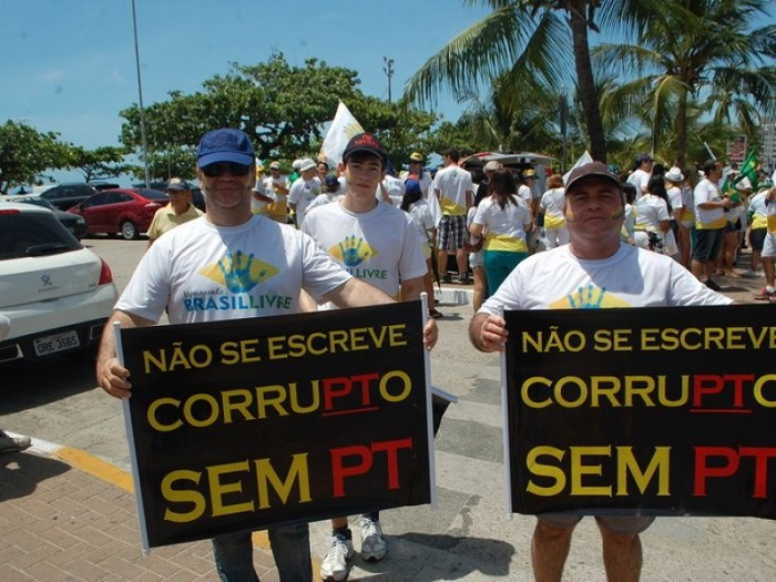 movimento brasil livre impeachment