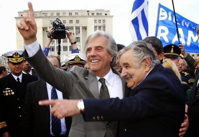 mujica vazquez posse uruguai