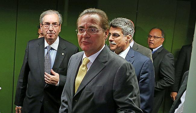 Renan Calheiros se rebelou contra Dilma lava jato