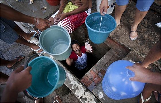 falta de água brasil