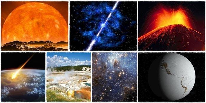 apocalipse ótica da Ciência terra fim do mundo