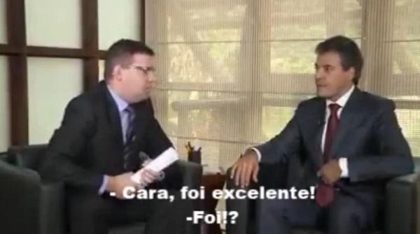 Entrevista ensaiada de Beto Richa complica governador
