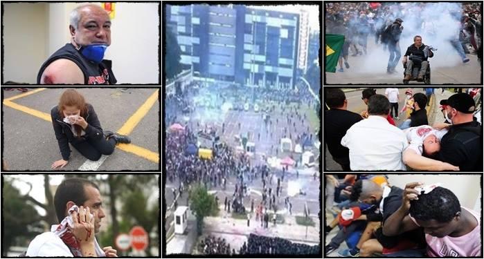 paraná professores protestos pm