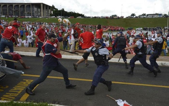 terceirização brasília protesto