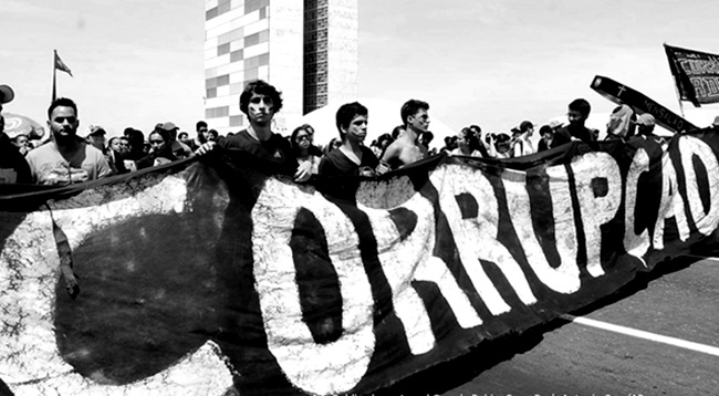 corrupção brasil políticos combate história