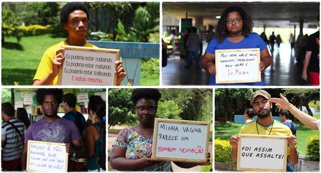 ódio negros racismo frases universidade preconceito