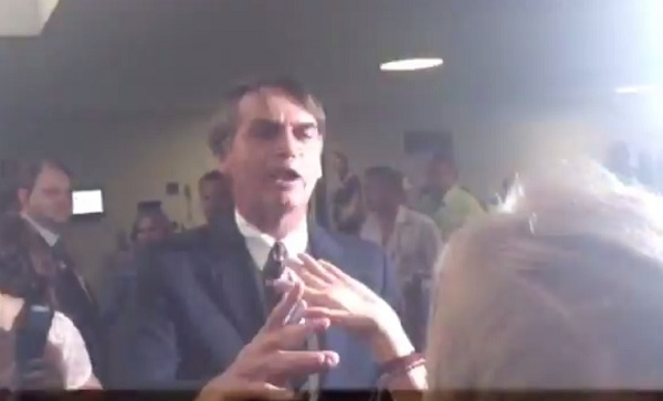 bolsonaro meninas congresso perguntas
