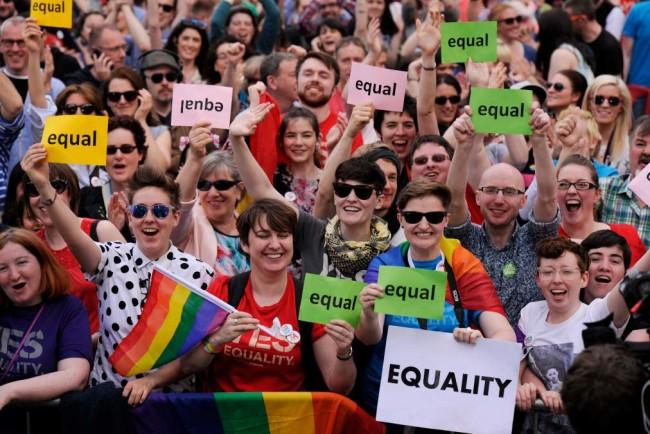 casamento gay referendo da Irlanda fosse no Brasil