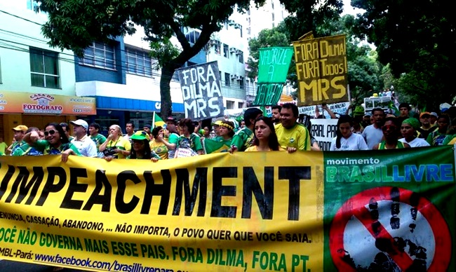 psdb impeachment manifestação protesto