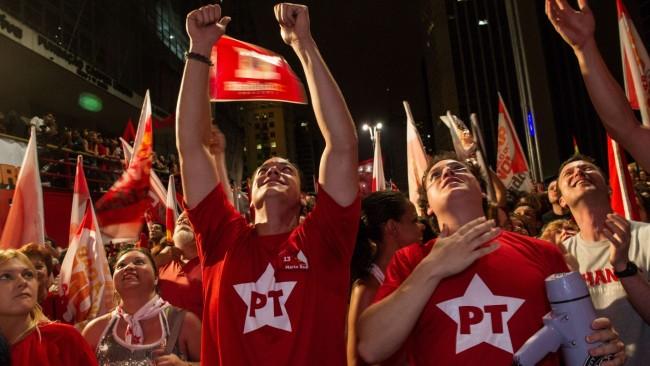 pt partido trabalhadores