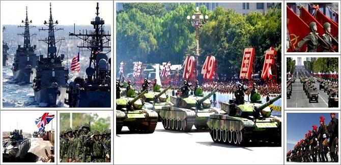 maiores potências militares do mundo guerra eua china