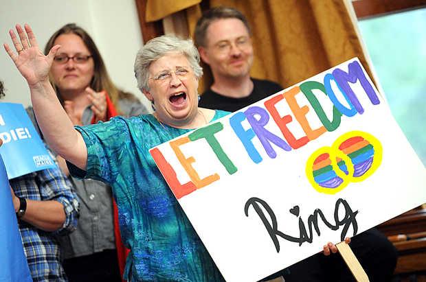 homofóbico casamento gay eua