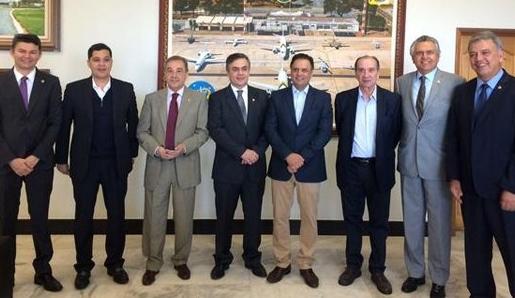 senadores brasileiros venezuela