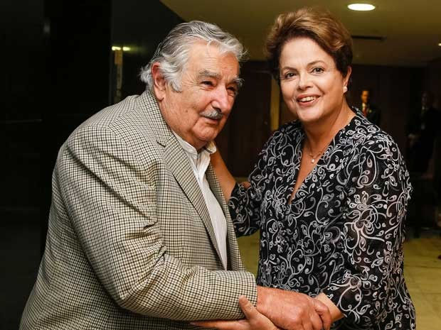 Mujica Dilma Lula PT