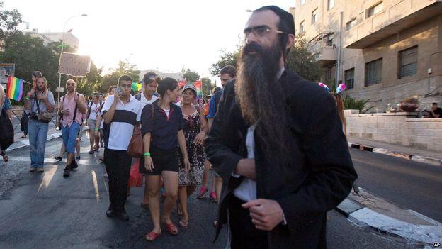 parada gay jerusalém judeu ortodoxo