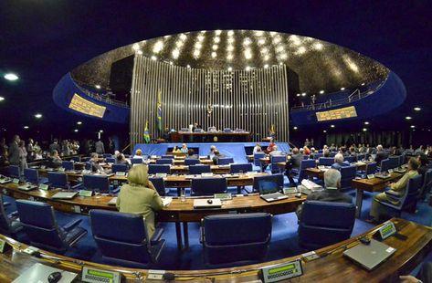 senadores faltas sessões deliberativas