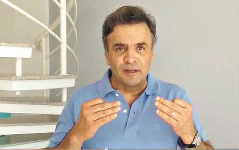 aécio neves golpe 2015