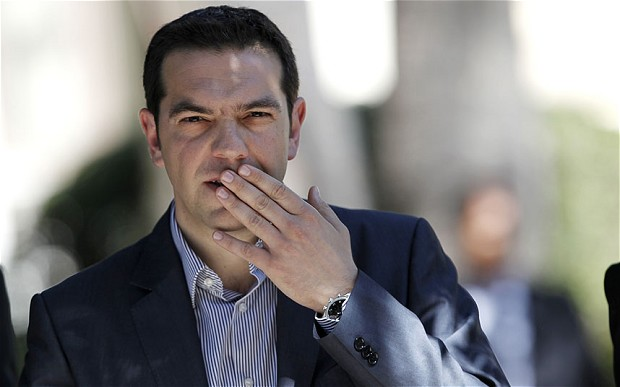Alexis Tsipras Grécia