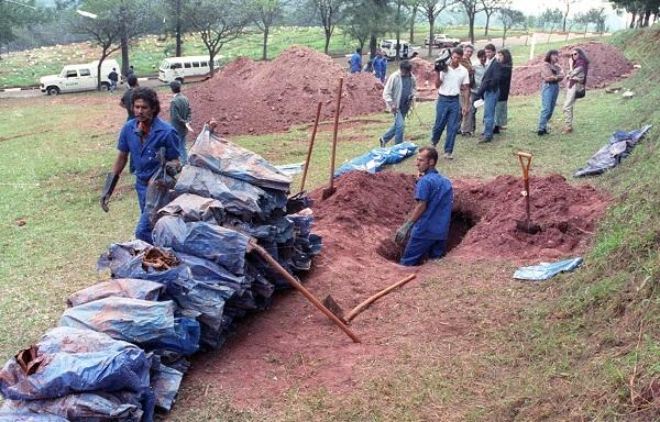 cemitério presos ossadas ditadura políticos