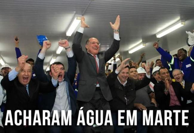 água marte alckmin