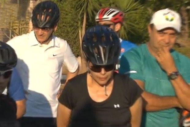dilma ciclista